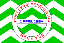 Postzegelvereniging Monster logo
